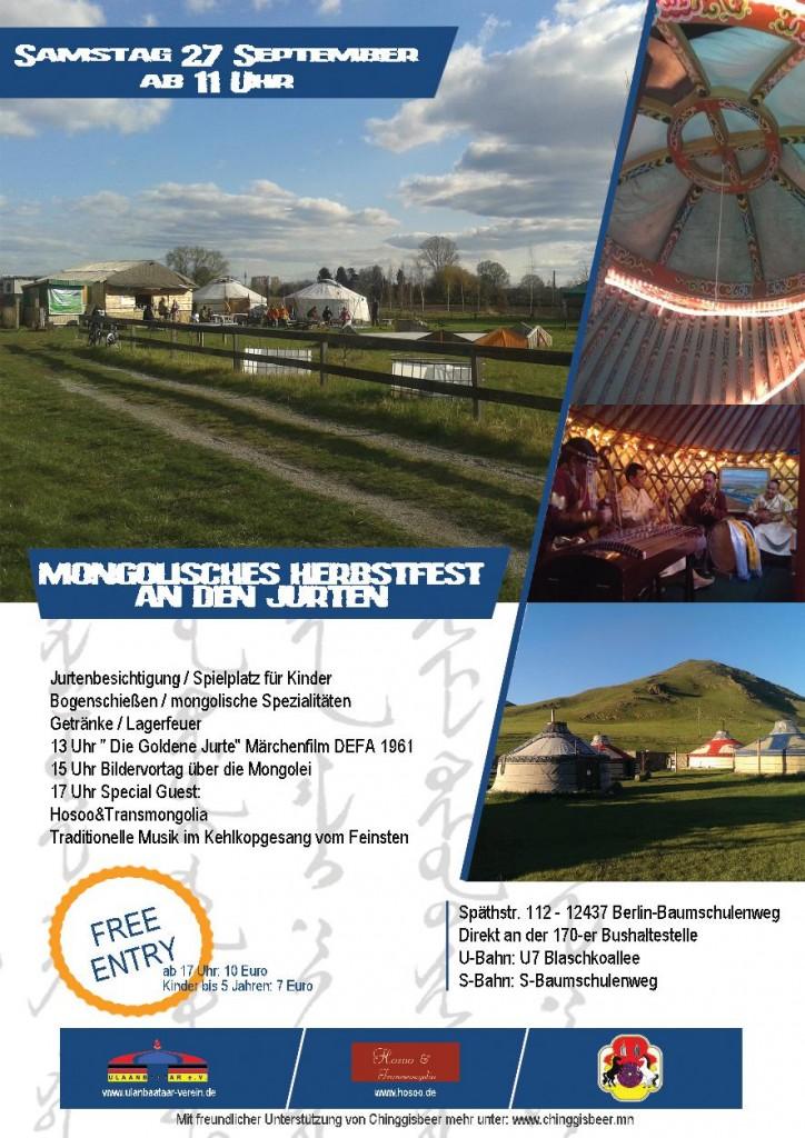 Mongolisches Herbstfest